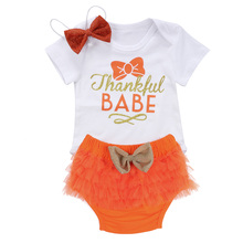 2pcs!!Newborn Baby Girls Clothes Set Bownot Tops Romper+Lace  Ruffle Shorts Clothes Outfits Set 0-24M