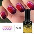 Yao Shun 8ml Gel Polish Temperature Color Changing Gel Nail Polish Soak Off LED UV Gel Long Lasting Glitter Color Nail Gel