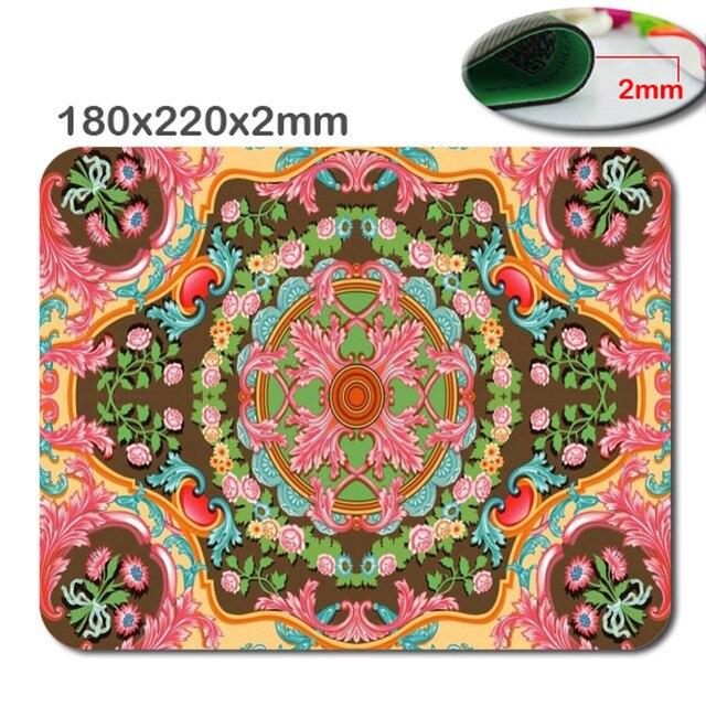 Professional Custom Quick Printing Computer Mouse Mat Of Durable Persian Rug Pad