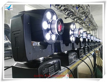(20/lot)stage lamp 6x8w gobo moving head wash dmx 30w mini led wash moving head light