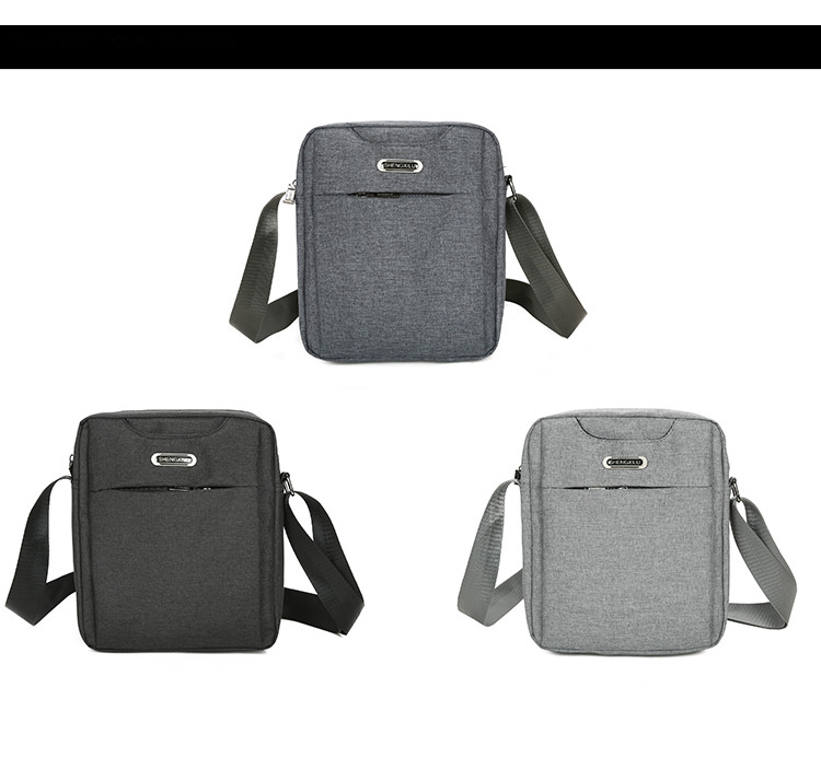 New Fashion Men Small Shopping bags!All-match Male Shoulder&Crossbody bag Casual Double-layer Handbags Business Oxford Carrier