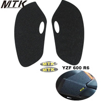 For Yamaha YZF 600 R6 2008 2015 2014 2013 2012 2011 2010 2009Fuel tank pad side protector tank antislip stickers