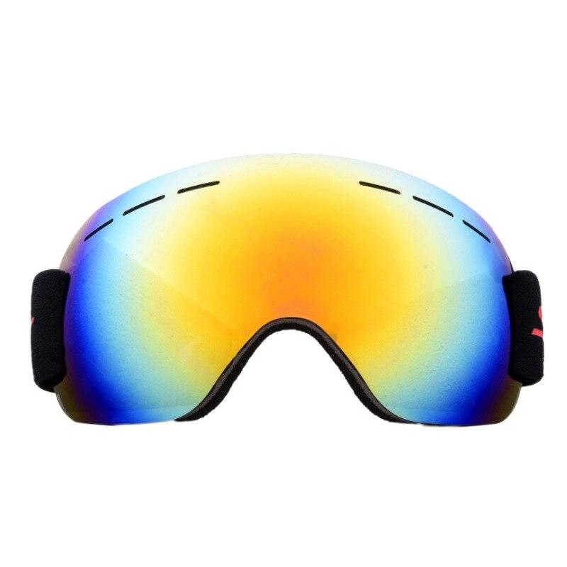 цена на Ski Glasses Windproof Large Spherical Glasses Men And Women Climbing Snow Goggles Double Anti-Fog Large Ski Mask Glasses