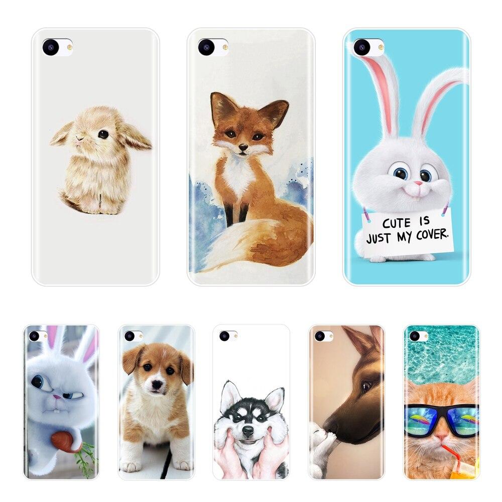 Cute Animal Patterned Phone Cases For Meizu Pro 6 7 Plus U20 U10 Soft Silicone Cover For Meizu 15 Lite 16 Plus 16th 16x Case