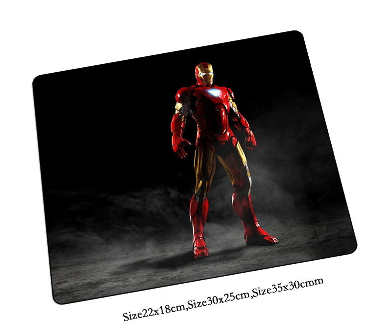 Iron Man mouse pad hot sales gaming mousepad big gamer mouse mat pad game computer desk padmouse laptop keyboard large play mats