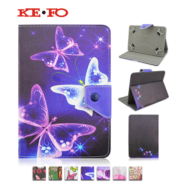 Fashion PU Leather cover case For Acer Iconia One B1-770 For Irbis TX18/TX17 7.0 inch Universal 7 inch Tablet cases KF469D