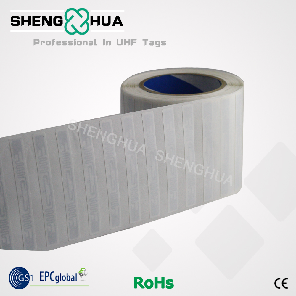 2000pcs Disposable Passive Rfid Label Roll Packaging