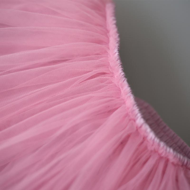 Baby Girls Tutu Skirts Pettiskirt Kids Tulle Skirt Children Underskirt Ballet Dance Petticoat Party Miniskirt Clothes Wholesale (9)