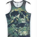 2016 New fashion clothing Women/Men leopard Animal 3D Vest Sleeveless  tiger/cat/wolf t-shirt Tops Tees bodybuilding M-XXL