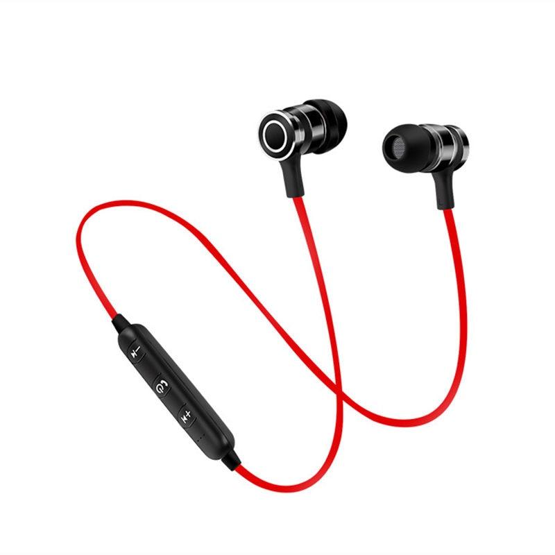 New Magnet Bluetooth Earphone Stereo Sports Wireless
