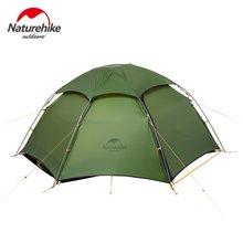 Naturehike открытый непромокаемые палатки кемпинга гексагональной Сверхлегкий ветрозащитный 2-х местная палатка Пеший Туризм Восхождение Водонепроницаемый покрытие палатки