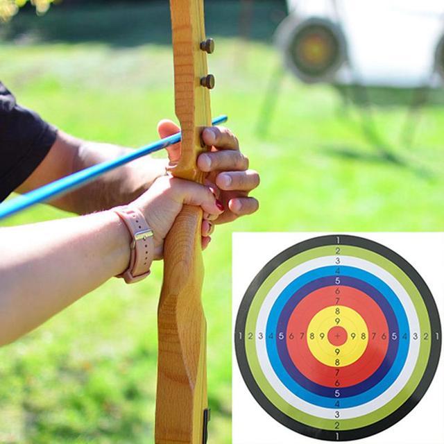 10PCS Archery Training Target paper Shooting Target Sheet 45*45CM Support Drop Shipping