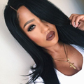4x4 Silk Base Wig 150% Density Lace Front Human Hair Wigs Silky Straight Wigs With Bangs For Black Women Brazilian Virgin Hair