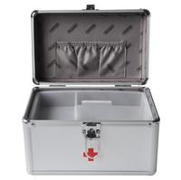 HZJ20 The 9 Inch B016 5 Aluminum Alloy Safety Box Household Medical Home Box First Aid