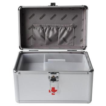 Hzj20 ---- 9 дюймов b016-5 Алюминий сплав Сейф бытовые медицинские Домашняя аптечка Box