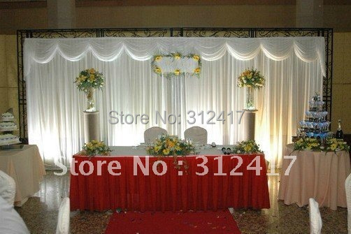 Buy wholesale and retail 3x6m solid white for Backdrop decoration for church