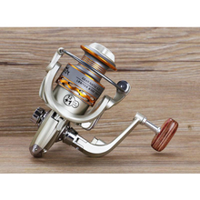 Fishing coil Wooden handshake 12+ 1BB Spinning Fishing Reel Professional Metal Left/Right Hand