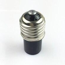Розничная e27 к b15 держатель лампы конвертер