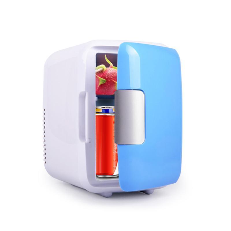 18 * 23 * 30cm Mini Refrigerator Car Refrigerator Outdoor Travel Portable 12V/220V 4L Mini Car Home Fridge Cooler Warmer цена