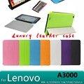 Case для Lenovo A3000 case Ультратонкий Роскошный Стенд кожа Case чехол для Lenovo A3000 7 дюймовый Tablet cover case + screen протектор