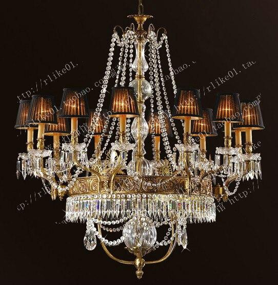 American k9 crystal chandelier vintage light copper lamp home lighting vintage antique lighting crystal hanging lights
