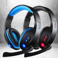 Glowing Gaming Headphones 7 1 Sound Fone De Ouvido Game Casque Headset Stereo Bass LED Light