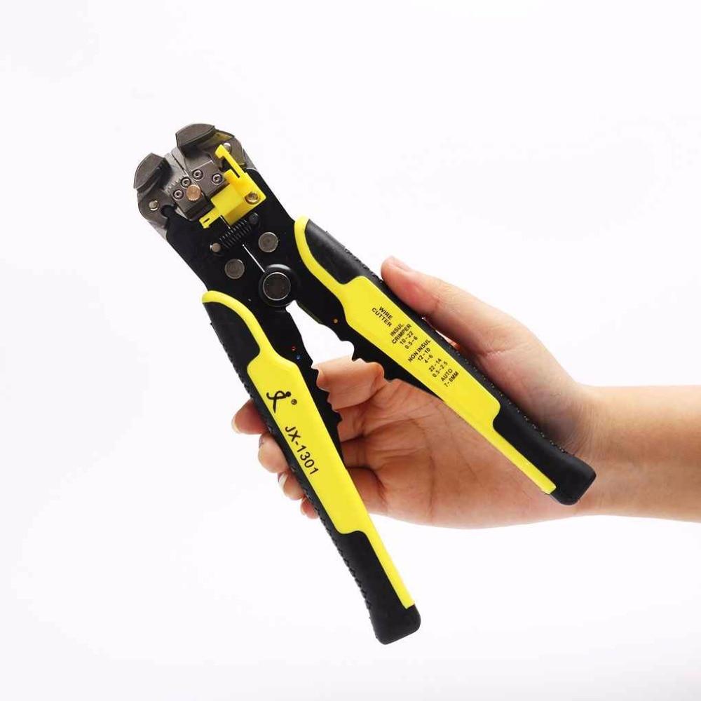 Automatische Kabel Draht Stripper Cutter Selbst-anpassung Multifunktions Crimpen Abisolieren Zange Werkzeuge