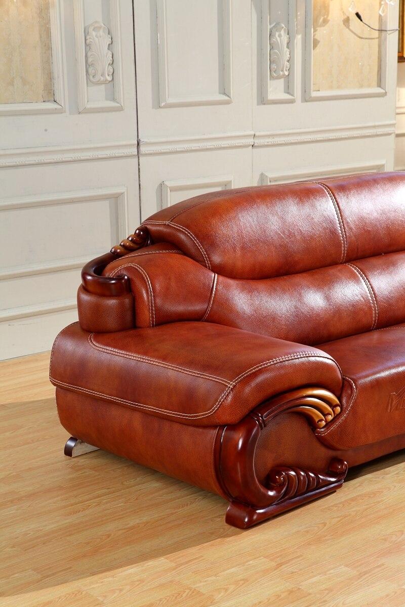 Aliexpress Antique Europischen Leder Chesterfield Ledercouchgarnitur Wohnzimmer Sofa In China Sofagarnitur Von Verlsslichen Leather