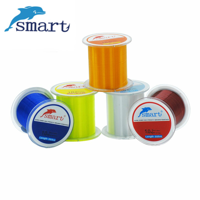 Smart 500mnylon fishing line extreme strong strong for Strong fishing line