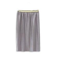 Fashion Long Pleated Chiffon Girl's Skirt