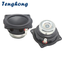 Tenghong 2pcs 2 Inch Mini Audio Speakers 4Ohm 20W Full Range Bluetooth Speaker Treble Mediant Bass Loudspeaker For Home Theater guan audio 3 inch full range speakers bass midrange treble delicate sweet fever hifi professional 2 0 4 8 ohm 2 speakers