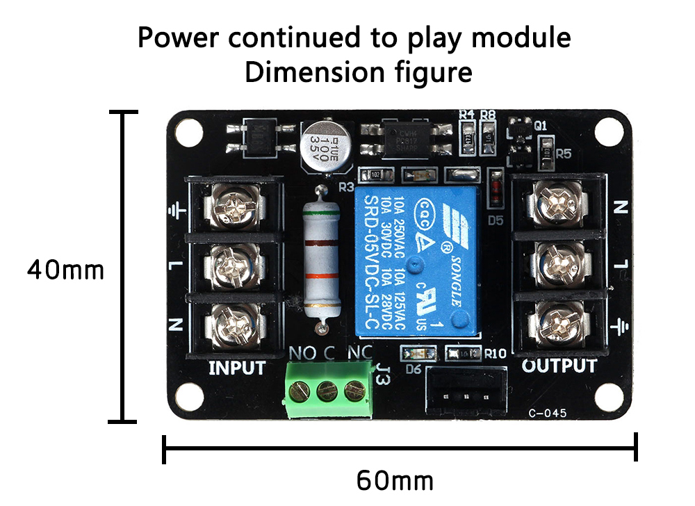 3DSWAY 3D Printer Parts 3D Printer Power Continued to Play Module Printing Automatically Put off Module for Lerdge Motherboard (1)