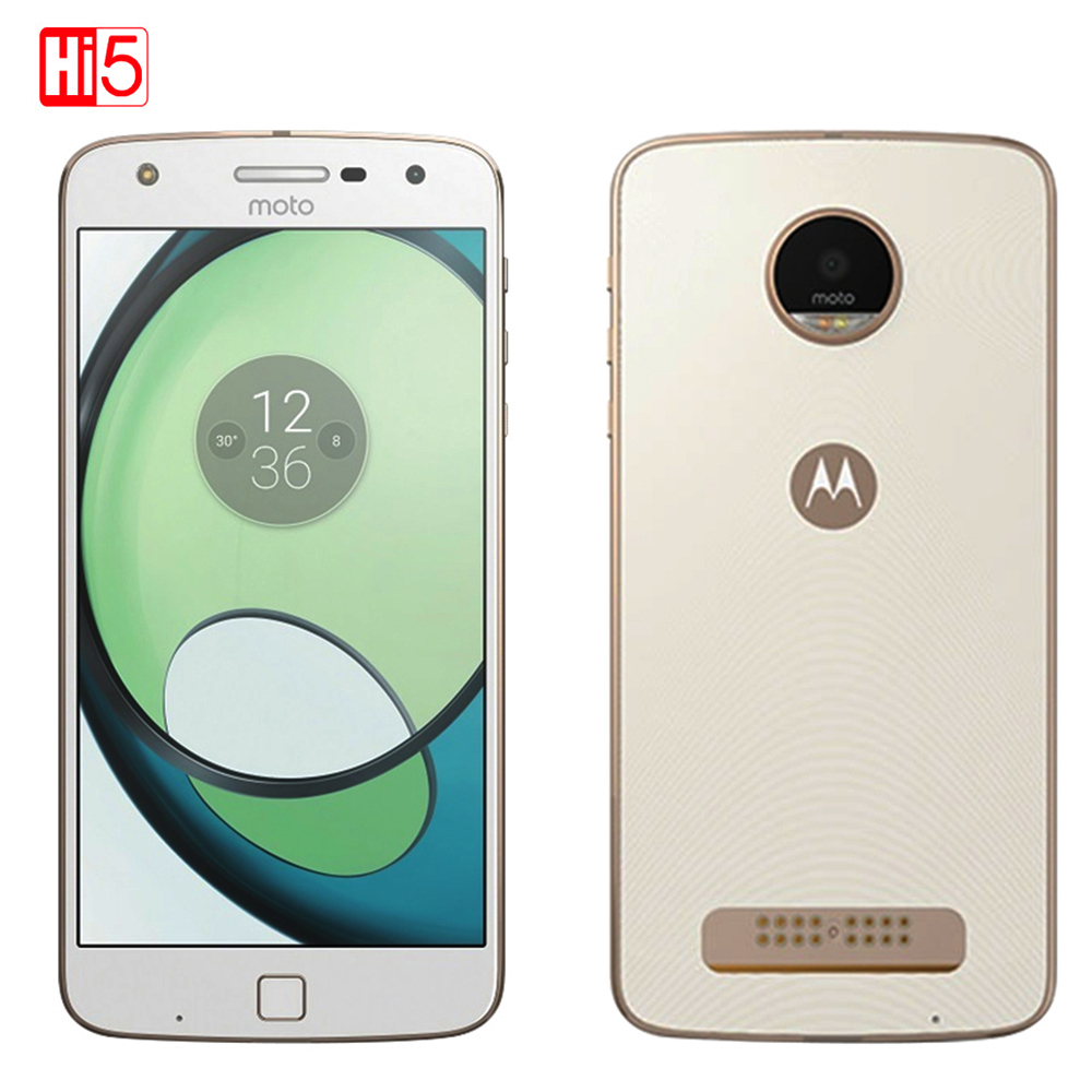 Unlocked Motorola MOTO Z PLAY XT1635-03 Mobile Phone 3GB RAM 64GB ROM Octa Core 5.5'' Android 16.0MP 1920*1080 4G LTE Cellphone