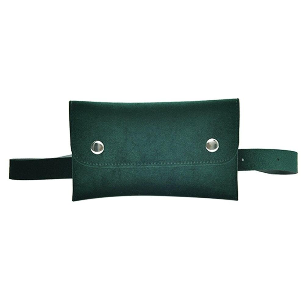 Elegant Women Velvet Shoulder Waist Packs Hip Bum Casual Belt Fanny Handbags Phone Pocket Pouch Ladies Crossbody Messenger Bags цена