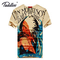 Taddlee Brand New Fashon Men's Top Tee Shirts Cotton 3D Printed Tshirts O-neck T-shirts Short Sleeve Printing Casual Tshirts New