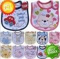 Baby Boy Girl Unisex Newborn Toddler Children Infant Carteer Bibs Waterproof Saliva Towel Bib 5pcs/lot Feeding Bandana