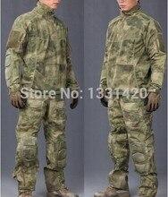 Atacs FG военная армейское обмундирование армия военная форма боевой костюм и военная рубашка и брюки-равномерной