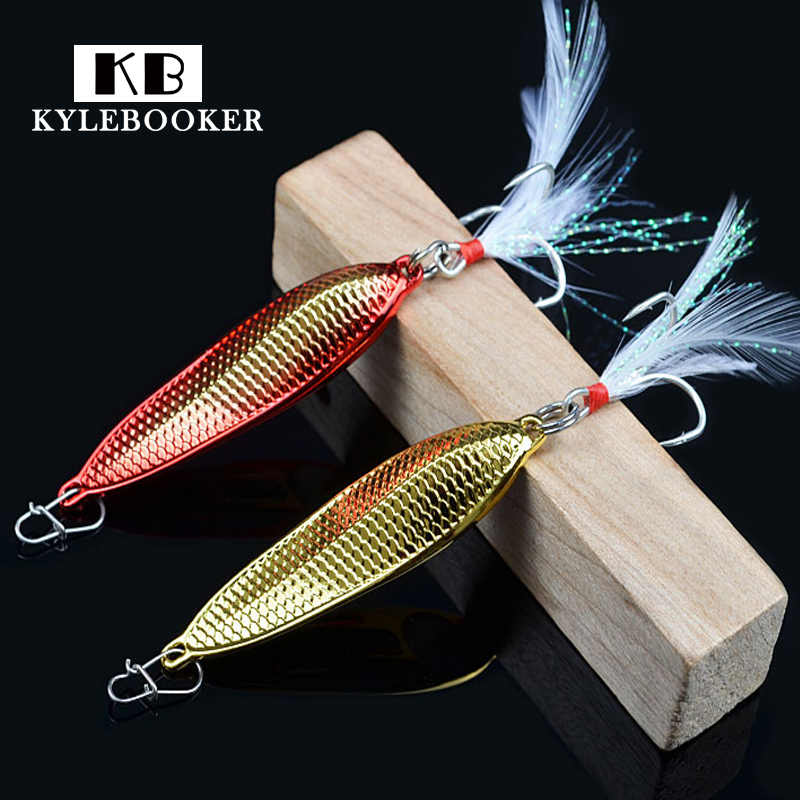 Jigging fishing bait 7.5g 10g 15g 20g spoon lure wobbler isca artificial spinner baits metal Lure castfun slow jig spoon lure saltwater metal jigging fishing lure 1pc 20g 40g 60g 80g hard baits