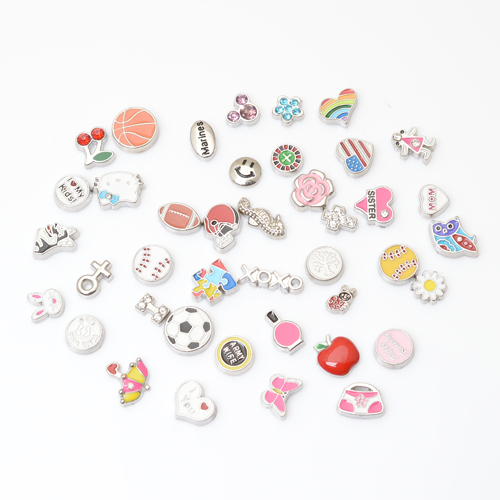 100pcs/lot MIX floating charm fit floating charm lockets, FC-MIX title=