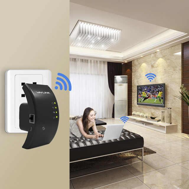 WAVLINK Original Wireless Wi-Fi Repeater 300Mbps WIFI WLAN Range Extender wifi Signal Amplifier Booster 802.11n/b/g WPS TRAVELS