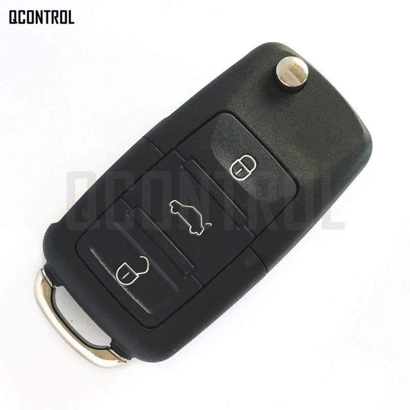 Image 2 - QCONTROL Car Remote Key for AUDI A3 A4 A6 A8 RS4 TT Allroad Quttro RS4 1994   2004 4D0 837 231 A / 4D0837231A-in Car Key from Automobiles & Motorcycles