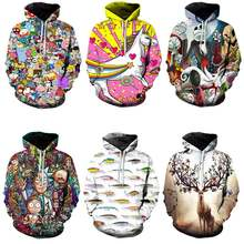 Hot koop off wit hoodies harajuku Fashion Collection 2019 freeshipping mannen en vrouwen 3D Print Hooded Sweater streetwear(China)