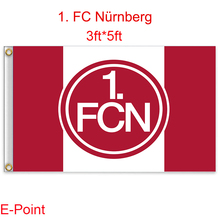 1 piece Deutschland (Bundesliga) 1. FC Nurnberg decoration Flag A 3ft*5ft (150cm*90cm)