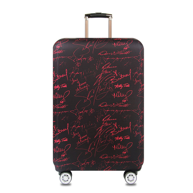 Thickened Elastic Suitcase Protective Cover Travel Luggage Covers Trolley Case Protective Covers For Suitcases Fit 18 To 32