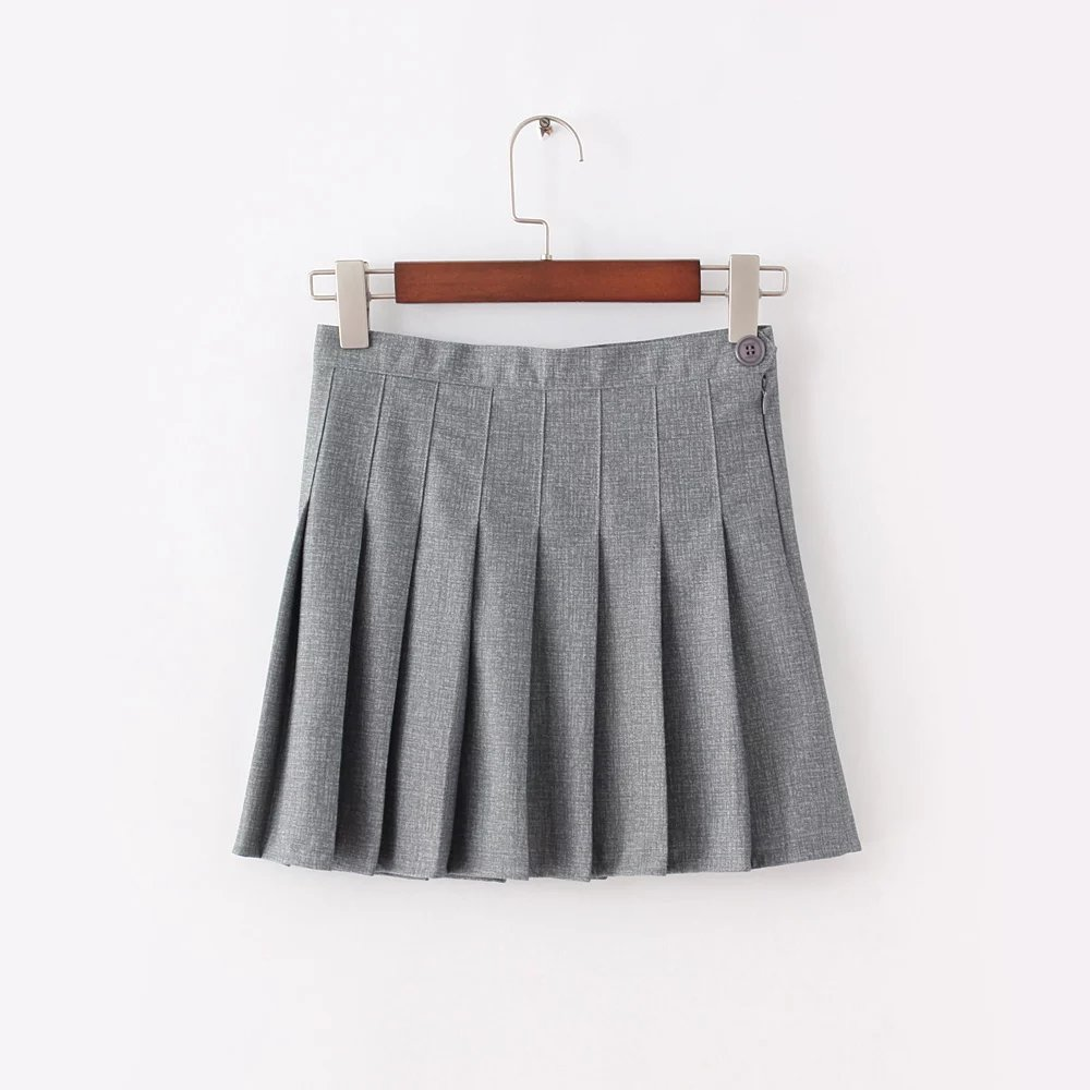 Compare Prices on Flared Skirt Gray- Online Shopping/Buy Low Price ...