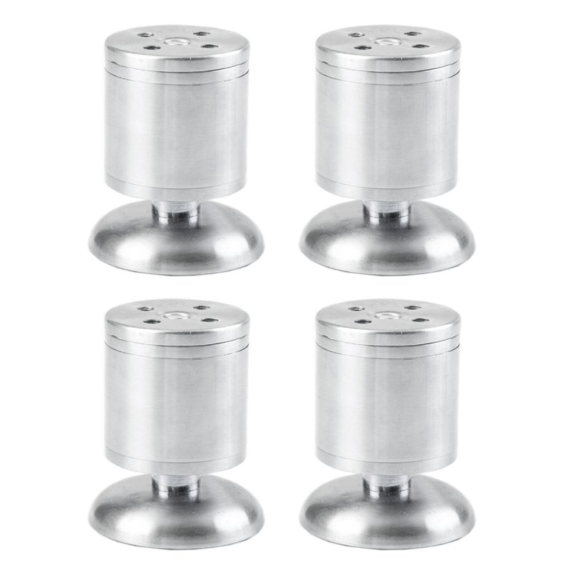 4 Pcs Stainless Steel Adjustable Cabinet Legs TV Cabinet Cabinet Feet Foot Foot Sofa Furniture Foot Pad Thickening  Leg  30cm thickening aluminum alloy cabinet leg adjustable increased furniture foot support leg for cabinet sofa tv table 4pcs