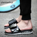 2016 New Air Cushion Sandal 100% Original Brand Men's Sandals Fashion Men Slides Outdoor Sport Sandals Man Slipper Flat Shoes