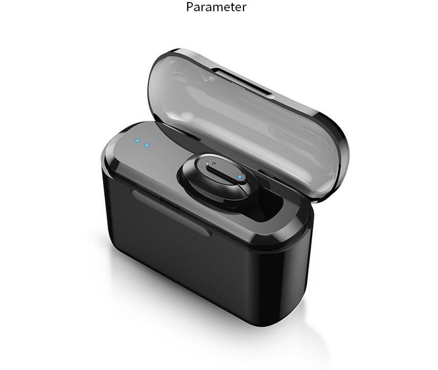 DSstyles Wireless Headphone Bluetooth Earphone In-Ear Invisible Portable Headsets Hands Free Headphone