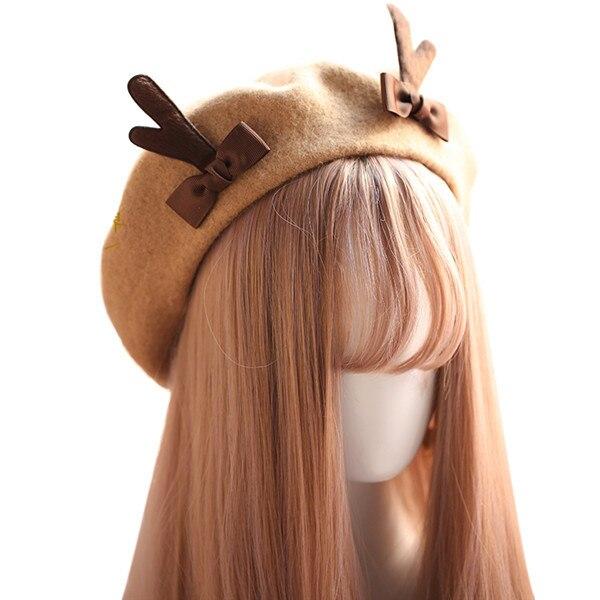 Spring Winter Berets Hat...