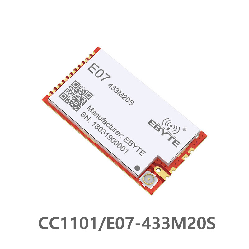 E07-433M20S CC1101 433MHz 100mW Rf Module 20dBm Long Distance SMD PA Transceiver 433 MHz IPEX Transmitter And Receiver